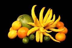 Citrusvrucht een Overvloed Stock Foto's