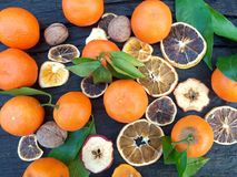 Citrusvrucht mi Royalty-vrije Stock Afbeeldingen
