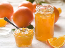 Citrusvruchtenjam Royalty-vrije Stock Foto's