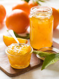 Citrusvruchtenjam Stock Foto