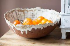 Citrusvruchtenkom Royalty-vrije Stock Afbeeldingen