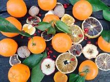 Citrusvruchtenmengeling stock afbeelding