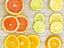 Citrusvruchtenraad royalty-vrije stock afbeeldingen