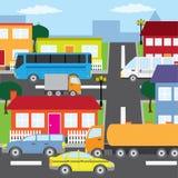Città. Immagine Stock Libera da Diritti