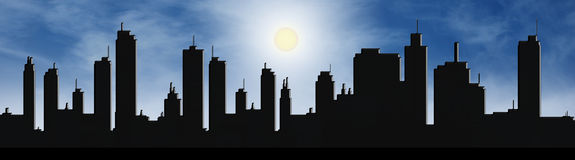 città Immagine Stock Libera da Diritti