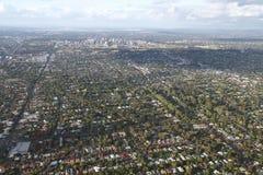 Città aerea di Adelaide Fotografia Stock Libera da Diritti