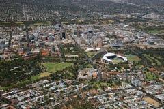 Città aerea di Adelaide Immagine Stock Libera da Diritti