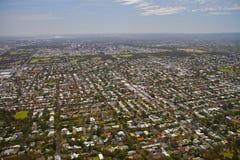 Città aerea di Adelaide Fotografie Stock