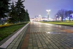 Città alla notte Immagine Stock