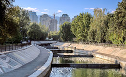 Città Almaty Fotografia Stock Libera da Diritti