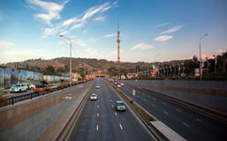 Città Almaty Fotografie Stock Libere da Diritti