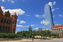 Città americane Dallas immagini stock