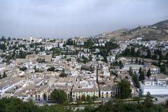 Città andalusa. Granada, Spagna Immagine Stock