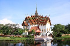 Città antica, Bangkok, Tailandia Immagini Stock