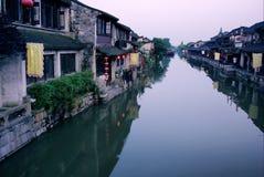 Città antica cinese di Xitang Immagini Stock