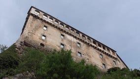 Città antica del >Pescolanciano, Isernia stock footage