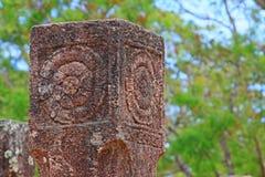 Città antica della camera del Consiglio del ` s di Polonnaruwa - patrimonio mondiale dell'Unesco dello Sri Lanka Fotografie Stock Libere da Diritti