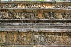 Città antica della camera del Consiglio del ` s di Polonnaruwa - patrimonio mondiale dell'Unesco dello Sri Lanka Immagine Stock