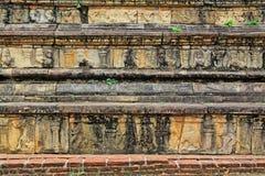 Città antica della camera del Consiglio del ` s di Polonnaruwa - patrimonio mondiale dell'Unesco dello Sri Lanka Immagini Stock