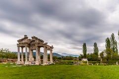 Città antica di Afrodisia, Turchia immagini stock