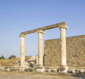 Città antica di Asclepeion in Pergamon Immagine Stock Libera da Diritti