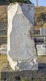 Città antica di Asclepeion in Pergamon Immagine Stock
