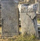 Città antica di Asclepeion in Pergamon Fotografia Stock