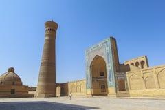 Città antica di Buchara nell'Uzbekistan Fotografia Stock