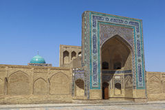 Città antica di Buchara nell'Uzbekistan Immagini Stock Libere da Diritti