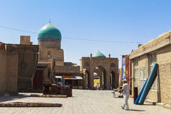 Città antica di Buchara nell'Uzbekistan Immagine Stock Libera da Diritti
