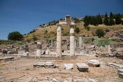 Città antica di Ephesus Immagini Stock