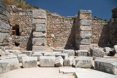 Città antica di Ephesus Immagini Stock Libere da Diritti