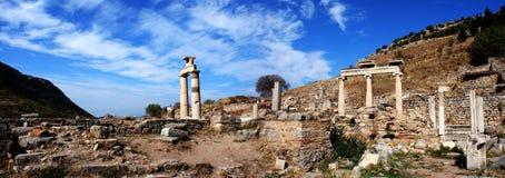 Città antica di Ephesus Fotografie Stock