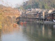 Città antica di Fenghuang Immagine Stock