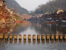 Città antica di Fenghuang Immagini Stock