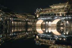 Città antica di Fenghuang fotografie stock libere da diritti