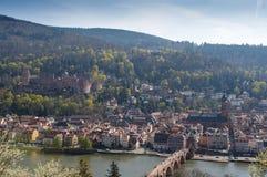 Città antica di Heidelberg - Europa Immagini Stock