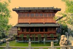 Città antica di Huizhou, l'Anhui, porcellana Immagini Stock