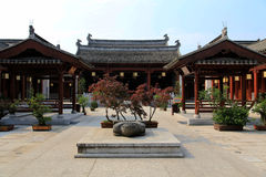 Città antica di Huizhou, l'Anhui, porcellana Immagine Stock