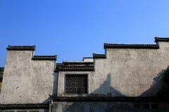 Città antica di Huizhou, l'Anhui, porcellana Fotografie Stock