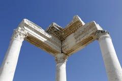 Città antica di Laodikya in Denizli, Turchia Immagini Stock Libere da Diritti