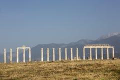 Città antica di Laodikya in Denizli, Turchia Fotografia Stock Libera da Diritti