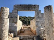Città antica di Lycian alla Turchia Civilizzazione di Lycian fotografia stock