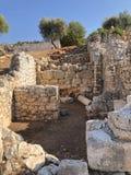 Città antica di Lycian alla Turchia Civilizzazione di Lycian immagini stock