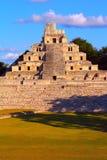 Città antica di maya di Edzna XI Fotografia Stock Libera da Diritti