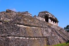 Città antica di maya di Palenque VI Fotografia Stock