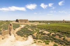 Città antica di Merv nel Turkmenistan Fotografia Stock