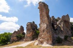 Città antica di Midas Immagine Stock