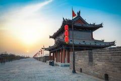 Città antica di paesaggio di Xi'an Immagini Stock