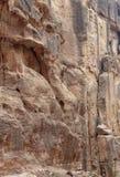 Città antica di PETRA, Giordania fotografia stock